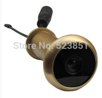5.8G Wireless Door Peephole Camera transmits 100 meters range, low 0.008lux, broad view 90deg angle