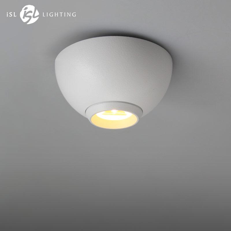 LED Surface Mounted Downlight Mini Led Ceiling Spotlight for Counter Showcase Wardrobe Win Cabinet Black/White 3W AC 110V 220V