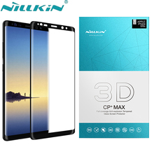 Tempered Glass sFor Samsung Galaxy Note 8 Screen Protector NILLKIN 3D CP+ Full Cover Protective Glass For Samsung Galaxy Note 8