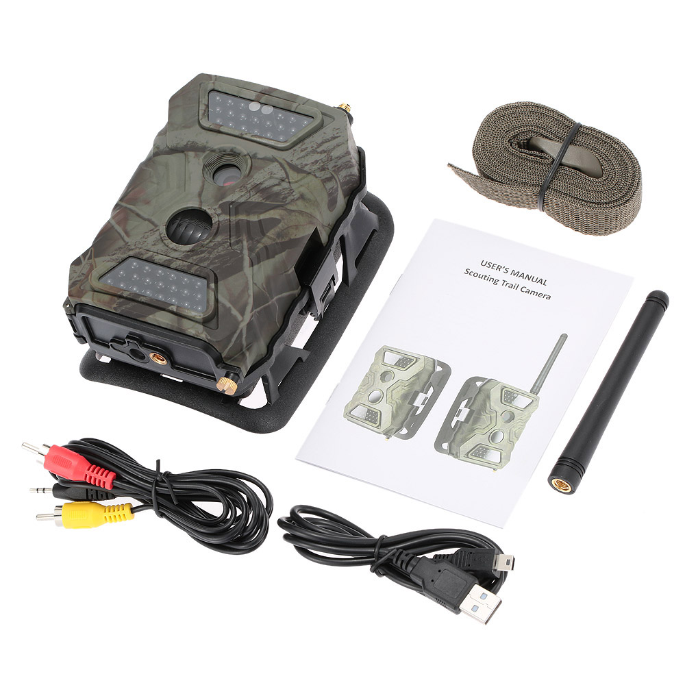 12MP HD Digital Scouting Hunting Trail Camera Trap Wildlife 940nm IR LED Video Recorder Waterproof Night Vision Cameras Wildlife digital hunting camera trail scouting wildlife 12mp 1080p hd stealth security