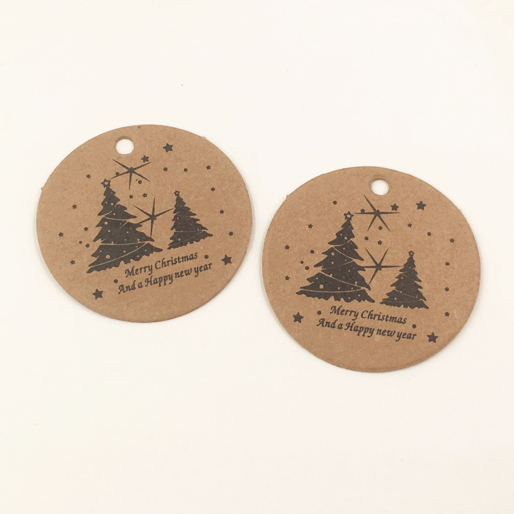100pcs Kraft Products/gift Price Tags DIY Wedding