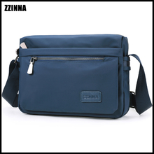 ZZINNA Summer Male Shoulder Wallet Bag Easy Wild Urban Style Purse For Men Muese Mini Crossbody Sling Sumka Water Repellent