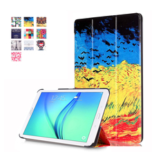 PU Leather Tablet Cover for fundas Samsung Galaxy Tab E 8.0 SM-T377 Case for coque Samsung Galaxy Tab E 8.0 Case T377V T375