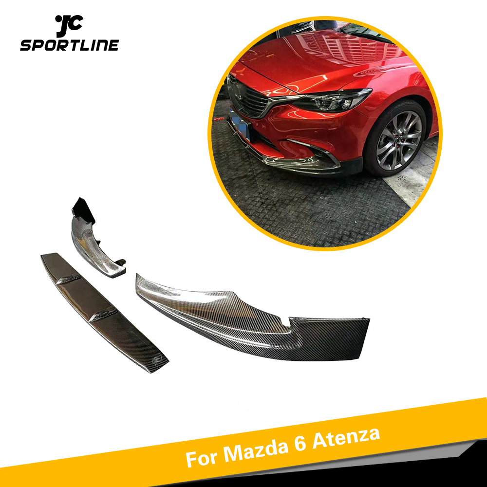 4 Pcs Carbon Fiber Bumper Fender Side Shark Fins Canards Splitters For Lexus