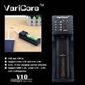 New original varicorev10 1.2 b 3.7 3.85 a aa/aaa 18350 26650 10440 18650 14500 16340 25500 nik bateria de lítio inteligente carregador