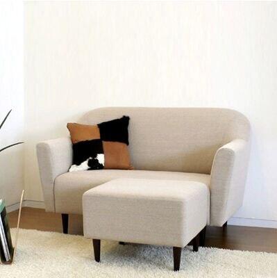 Sectional Sofa Creamy White