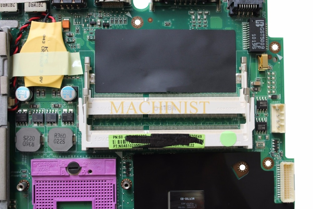 K50ID motherboard REV 3.2 for ASUS K40ID K50ID K40IE K50IE X50DI K40I K50I Laptop motherboard GT310M 512 100% tested intact 4
