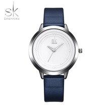 SK Relógio Vestido Relógio para Mulheres Marca De Luxo de Quartzo Relógios De Pulso para Mulher De Negócios Senhoras Montre Femme