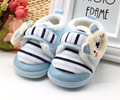 Cute Cartoon Newborn Baby Kids Autumn Winter Soft Soled Shoes First Walkers Keep Warm Anti-slip Infant Toddler Girls Boots Shoes