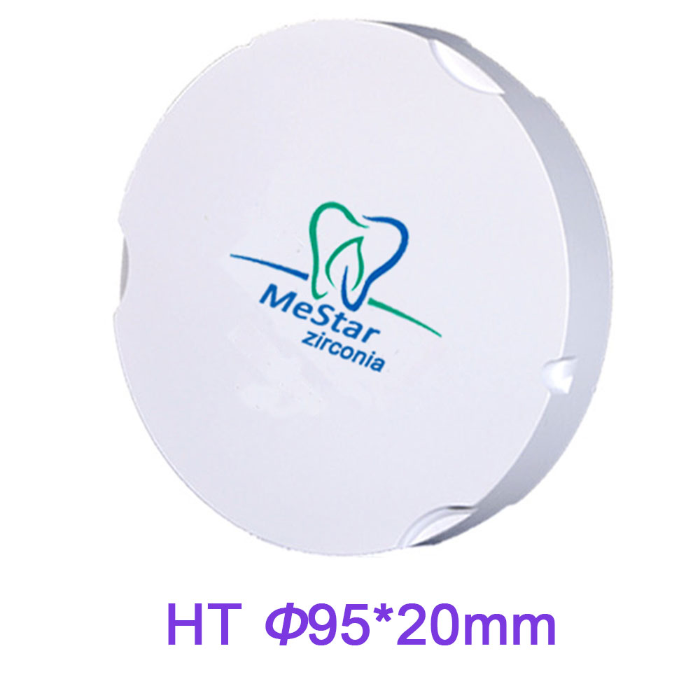 Fashion 95mm*20mm Dental Milling Machine Zirconia Puck Disc High Translucence Strength for Zirkonzahn CADCAM цена 2017