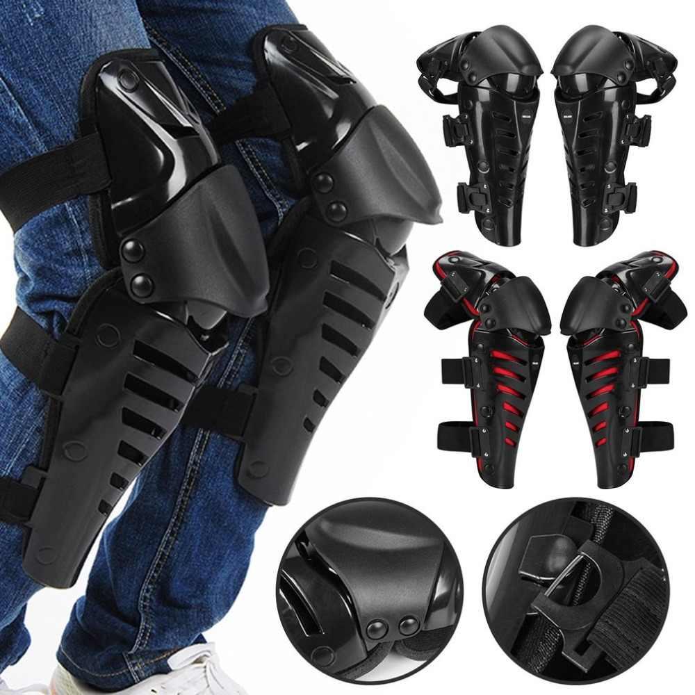 1 para Motorrad Knie Pads Schützen Motocross Motorrad Reiten Racing Schutz Getriebe Schützen Outdoor Sport Sicherheit Pads Guards