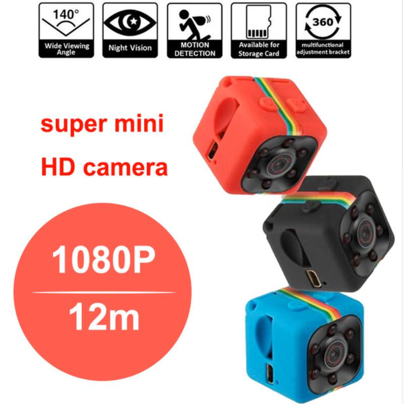 Baby Monitor SQ11 Mini camera HD 1080P Camera Night Vision Mini Camcorder Action Camera DV Video voice Recorder Micro Cameras цена