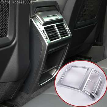 For Land Rover Range Rover Evoque 2014-2016 Car Interior Accessories Armrest Rear Air Outlet Vent Outlet Protection Frame Cover