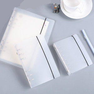 Coloffice Creative PP Plastic Folder Frosted Filing Product Notebook Students Stationery Book Binder Folder Office Supplies 1PC