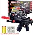 Nueva llegada de la alta calidad pistola Nerf nuevo modelo de juguete exterior suave de aire Nerf luz del rayo infrarrojo suaves elásticos niños de juguetes pistola