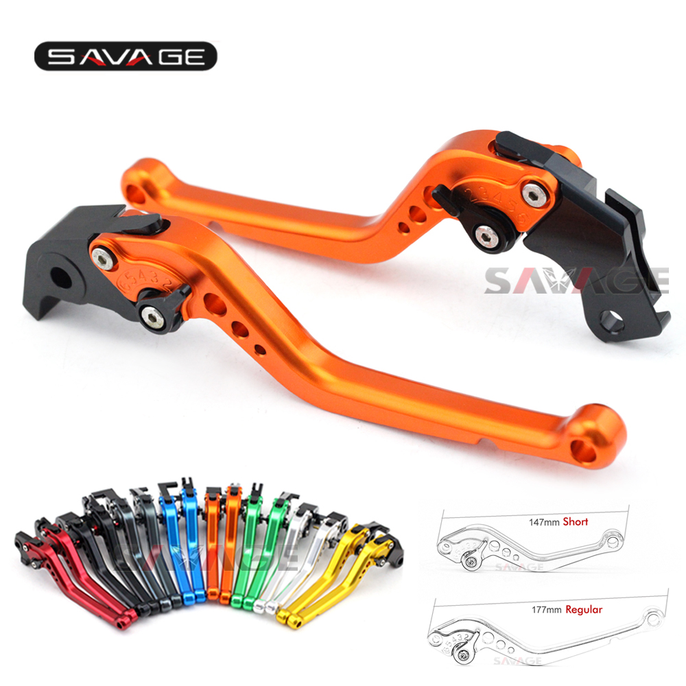 Short/Long Brake Clutch Levers For KTM 690 Enduro 07-08, 690 Enduro R 09-13, 950 SUPER ENDURO R 06-09 Motorcycle Adjustable CNC mtkracing cnc aluminum brake clutch levers set short adjustable lever for ktm adventure 1050 690 duke smc smcr 690 enduro r