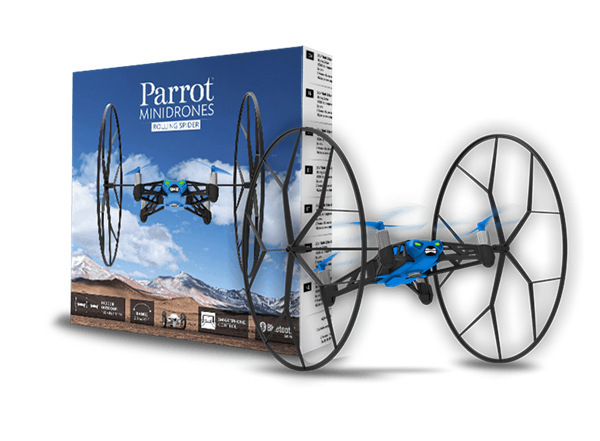 Original Parrot MiniDrones Rolling Spider Quadcopter Controlled By font b iPhone b font iPad Android
