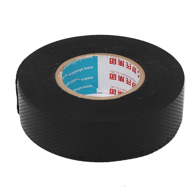US $4 83 7% OFF|UXCELL Black Rubber Adhesive High Voltage Insulation Cable  Wrapping Insulation Electrical Tape 23mm Width 4 5m 15ft-in Tape from Home