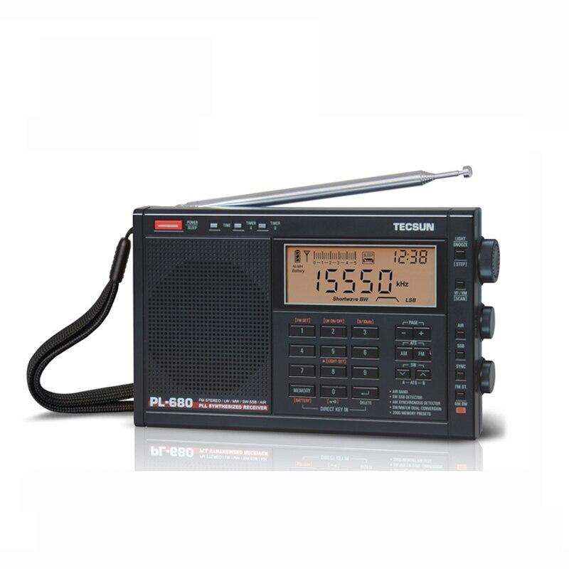 Tecsun PL-680 Haute Performance Pleine Bande Numérique Tuning Stéréo Radio FM Radio AM SW SSB