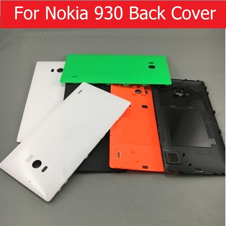 Weeten Rear Battery Door Housing For Nokia 930 Back Cover For Lumia Nokia 930 Rear Cover Case Without Logo + 1pcs Screen Film