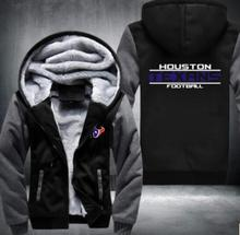 Free Shipping High Quality Hoodies & Sweat Packaging Machine Jacket Super Warm Plus Fleece Zippered Hooded Men's Jacket