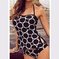 tankini swimsuits women Swimwear Female Vintage Bathing Suit Swimsuit Swimming Suit Retro Swimwear polka dot Tankini Sets 2016