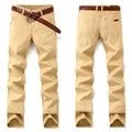 New Sarouel Joggers Men 2016 Fashion Straight Cotton Spring Joggers Mens Pants Trousers Casual Khaki Black Navy Men Skinny Pants