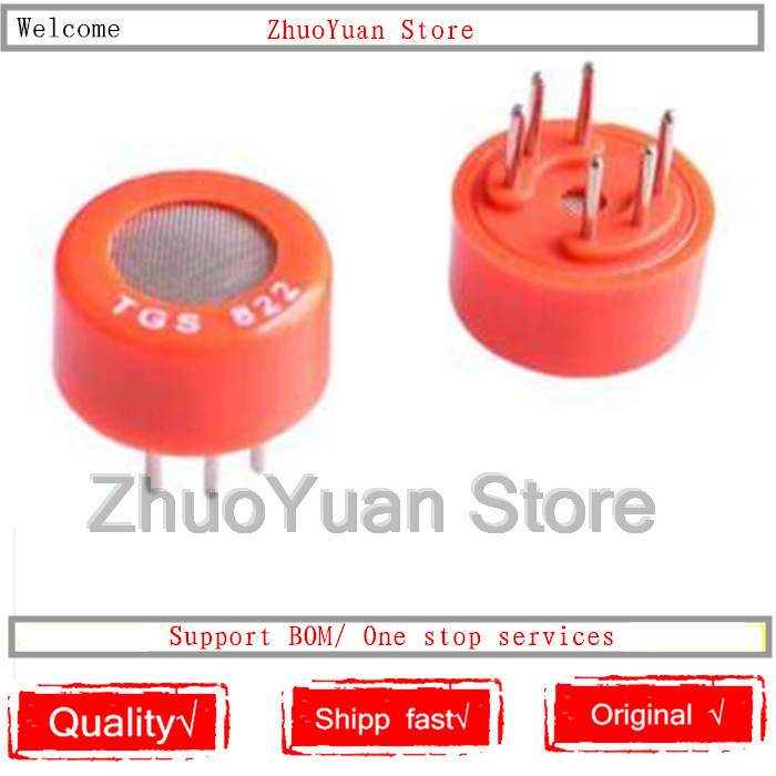 1PCS/lot TGS822 Gas Sensor-for Detection Organic TGS 822 New Original