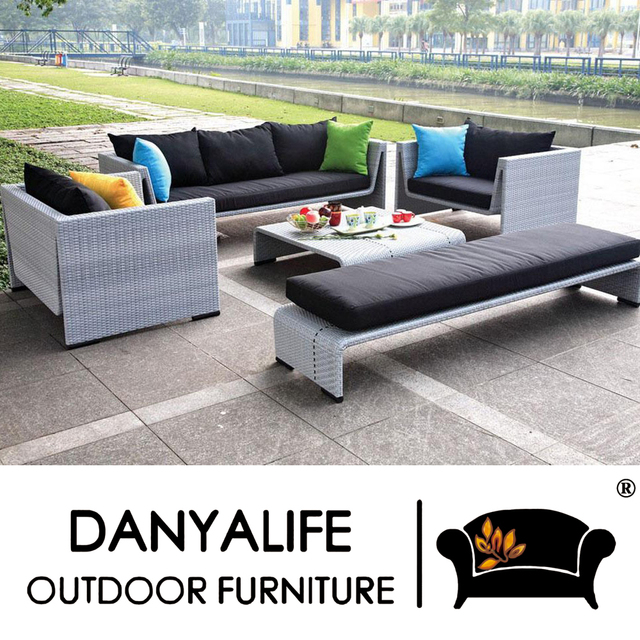 DYSF D6509 Danyalife High End Customization Poly Rattan High Quality Garden  Furniture