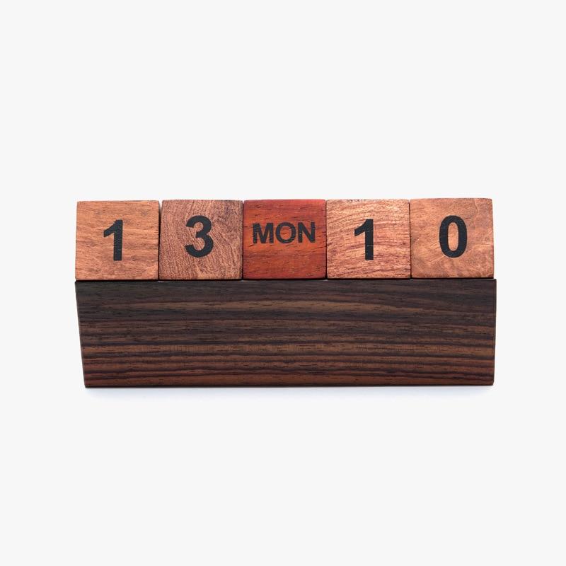 Fine Wooden Calendar Year Building Blocks Desk Calendar Black Rosewood Box Calendar OfficeFine Wooden Calendar Year Building Blocks Desk Calendar Black Rosewood Box Calendar Office