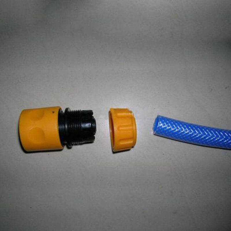 """3pcs Quick Tap Water Connector Adapter Fast Coupling Adaptor Drip Tape 3/4""""and 1/2"""" Barbed Irrigation Hose Connector Garden Tool"""