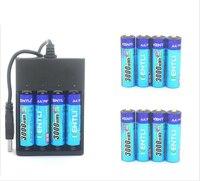 4 шт. kentli AA 1.5 В 3000mwh литий полимерный аккумуляторные батареи аккумулятор + 4 слота USB li ion аккумулятор, зарядное устройство