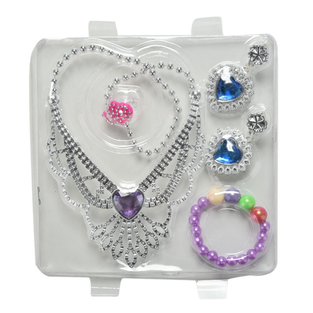 1 Set Blister toy for Plastic Jewelry Kit for Doll Kids Toys LF