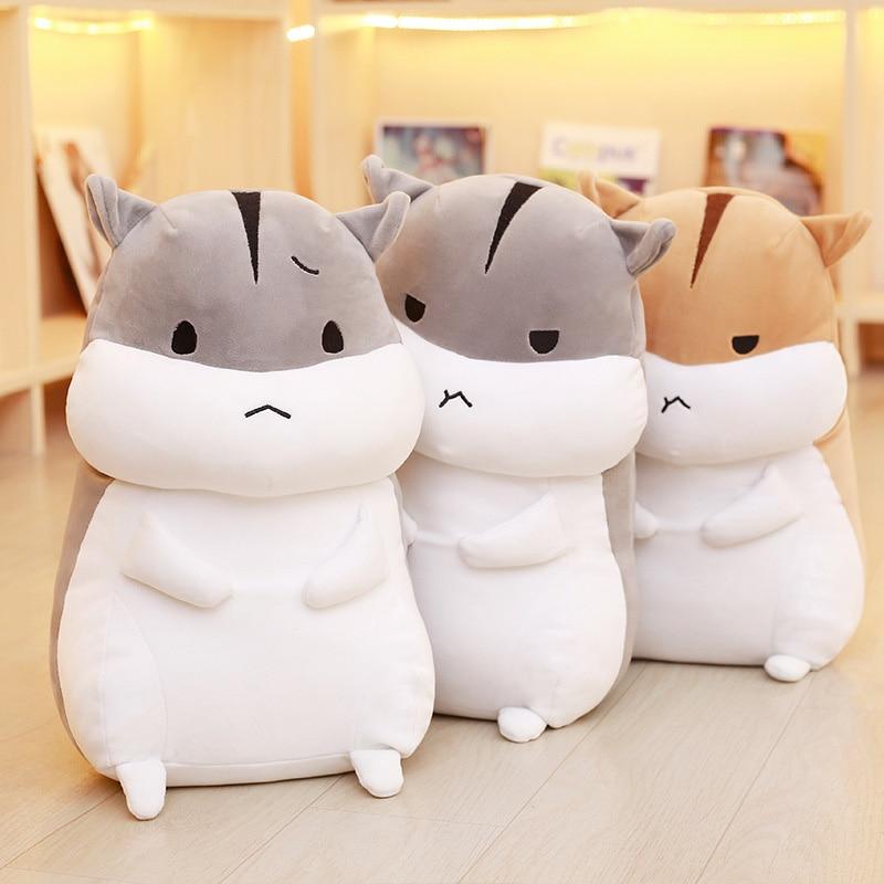 6 typer hamster plysch leksak 40 cm dockor för barn hög kvalitet mjuk bomull baby brinquedos djur för gåva
