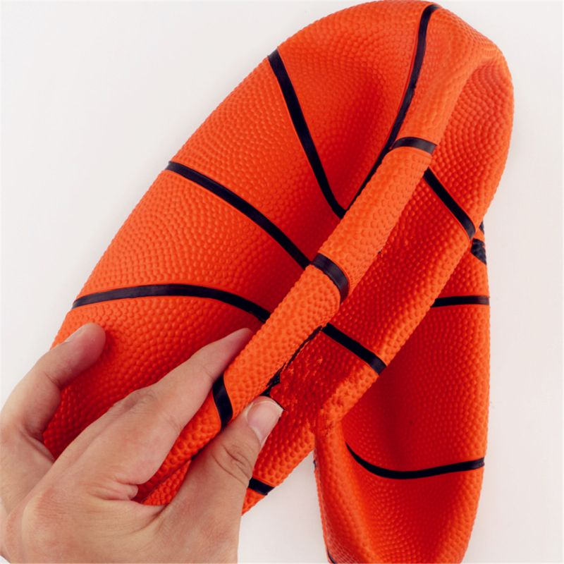 OOTDTY 7 quot Mini Rubber Youth Basketball Kids Basketball For Indoor Or Outdoor Playground Hoops Great Grip in Toy Balls from Toys amp Hobbies