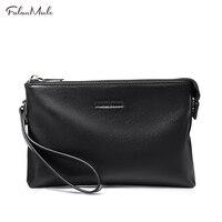 FALAN MULE New Brand Gunine Leather Wallet Men Cowhide Lether Clutch Men Wallets Key Card Holder