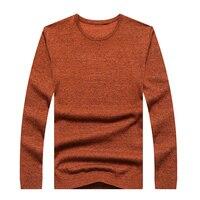 7XL6XL Senior Leisure Sweater Men's Pullover Winter Knit Long Sleeve Round Collar Korean Slim Neck Slim Sweater Sweater XL Free