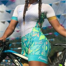 cycling jersey 2019 Frenesi Women pro tour Team Triathlon High quality sexy Body set maillot ciclismo skinsuit