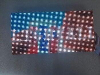 64x32 punti coperta RGB hd modulo p4 indoor led video wall di alta qualità rgb modulo P4 colore completo led display 256x128mm pannello