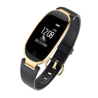 BT V4 0 BLE Heart Rate Sleep Monitoring Facebook Twitter WhatsAp S3 Smart Watch Aug29 Professional