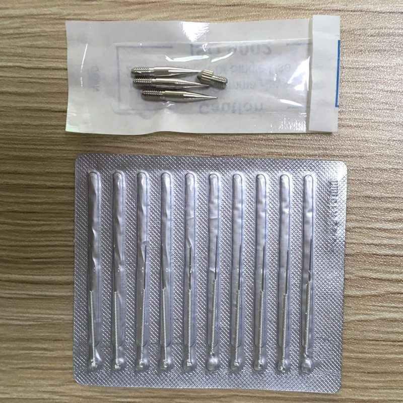 Igły do laserowe długopis plazmowy skóry usuwa ciemne plamy Mole usuwanie tatuażu maszyny dzieła/grube dedykowane igły do twarzy brodawek Tag
