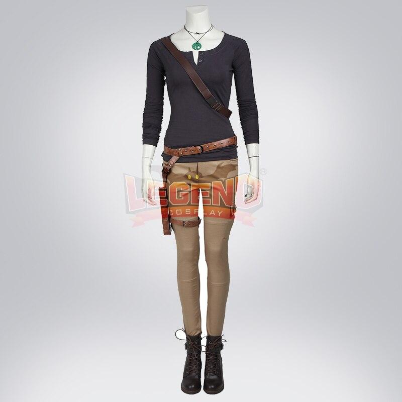 Cosplay legend Tomb Raider Lara Croft Version 2 Cosplay adult costume Custom Made full set