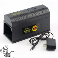 Electric EU/US Plug Rat Trap Mice Mouse Rodent Killer Electric Shock Voltage Adapter Mana Kiore Home Use