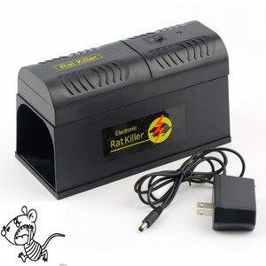 Image 1 - Trampa eléctrica para ratas con enchufe para UE/EE. UU., ratones, roedores, adaptador de voltaje de choque eléctrico Mana Kiore, uso doméstico