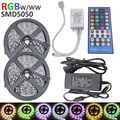 10m LED Strip Light 5050 RGBW DC12V 60LED/m RGB+White / RGB+Warm White Flexible +4A Adapter 40Key RGBW controller led strip kit