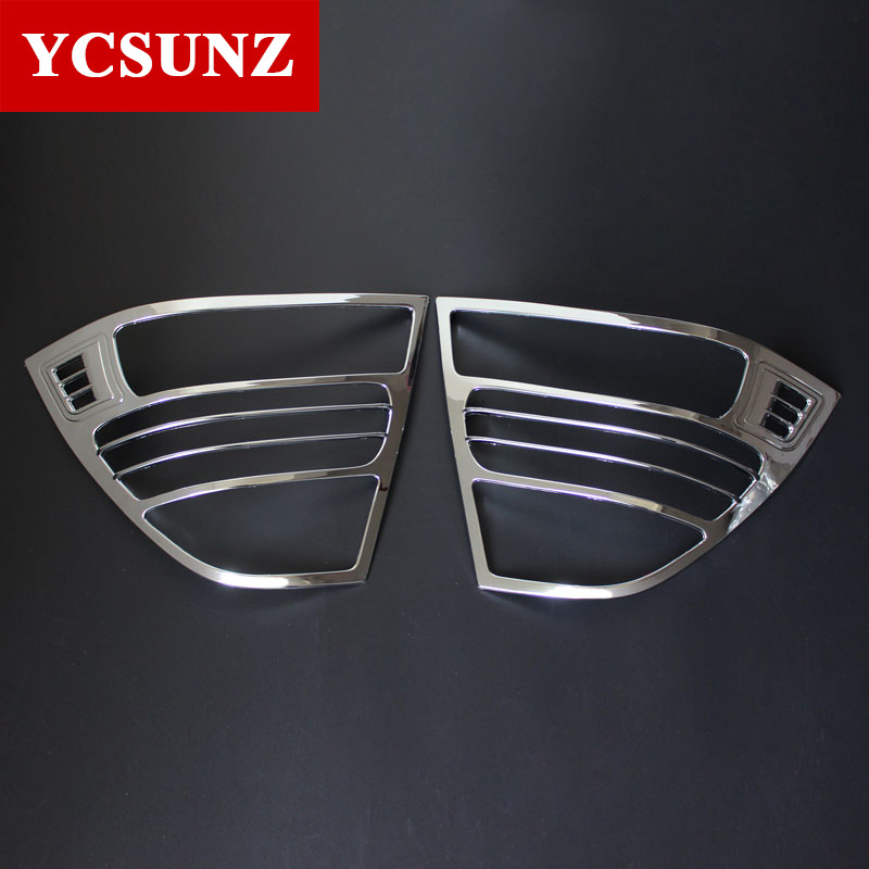 2001-2004 For Toyota Corolla Tail Lights Cover ABS Chrome Accessories For Toyota Corolla 2003 Toyota Corolla Chrome Parts Ycsunz image