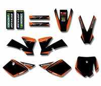 H2CNC gráficos y fondos Pegatinas Kits para KTM SX 50CC 50 SX50 PIT BIKE
