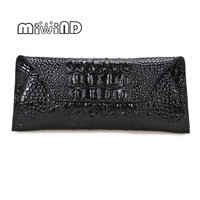 2016 New Handbags Brand Genuine Leather Wallet Fashion Crocodile Embossed Wallet Wholesale And Retail Free Shipping