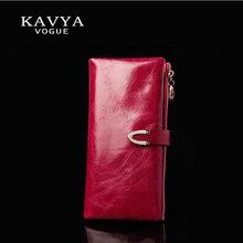 KAVYA Fashion Trends New Women Wallets Heart-Shaped Multi-card Position Two Fold Wallet Lady Clutch Long Section Purse Free Ship