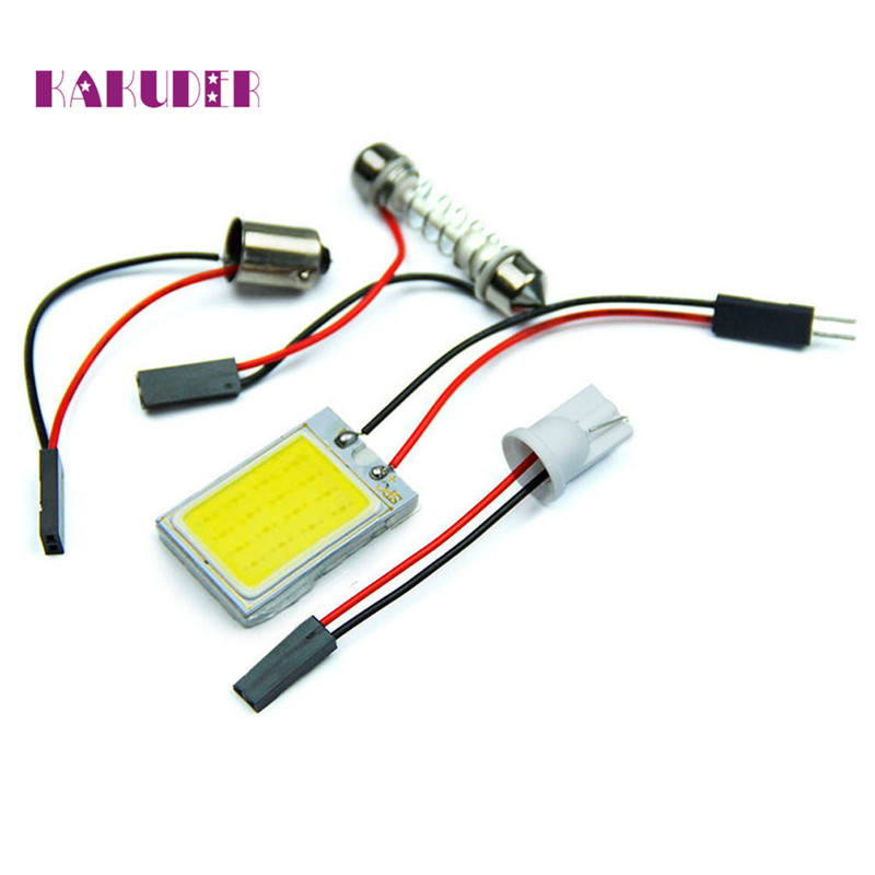 AUTO 3W 12V 18 COB Car Accessory CANBUS Error Free Car Light Bulb Interior LED Dome Light Bulb car styling 18Mar 14
